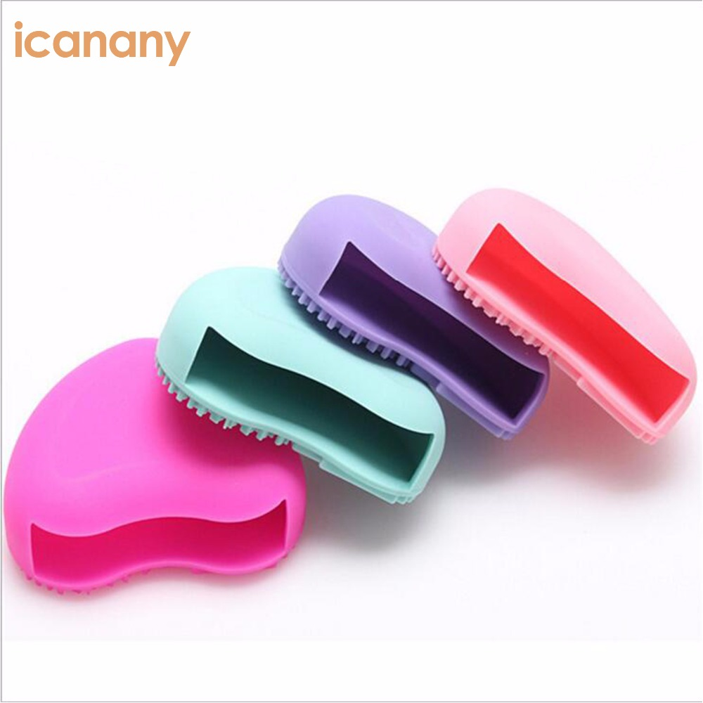 Wholesale Cleaner Mat Silicone Cosmetic Brushes Pad makeup brush cleaner