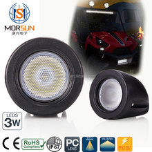 Morsun Good waterproof 10w led lights 12V 4x4 ATV UTV moto 10W high power led working lamp