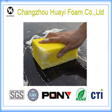 High-quality coral car cleaning sponge and car wash foam