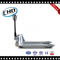 Galvanized Hand Pallet Jack with 2500kg Load Capacity