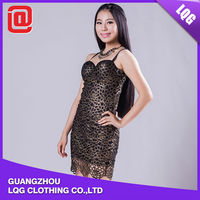 Good quality fashion sexy young women party dress