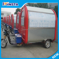 favarable price mobile food trailer food cart cooking trailer(motorcycle style)