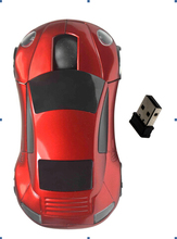 custom car shape wireless optical mouse for gifts