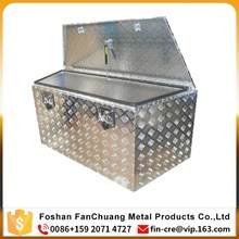 ALUMINIUM DRAWBAR TOOLBOX 900*470*450mm TOOL BOX TRAILER DRAW BAR