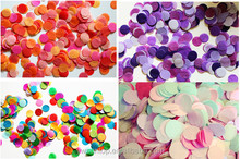 Colorful Wedding Party Paper Confetti Wedding Party Decorations