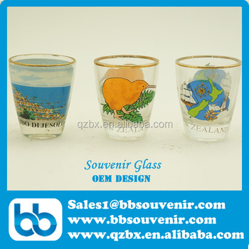 souvenir shot glass,shot glass, italy shot glass,