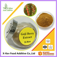 Organic Fresh Goji Berry Extract Wolfberry Extract 50% Polysaccharide In Bulk
