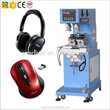 LC brand Pneumatic 2-color factory price ink cup tampo pad printing machine