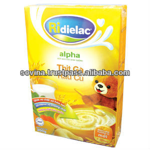 Cereal Powder ridielac chicken with vegetable pap 200g box