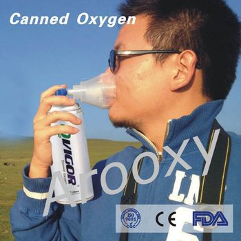 most popular Canned oxygen with mint favor