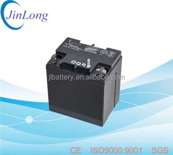 12v 24ah rechargeable ups vrla battery with long service life