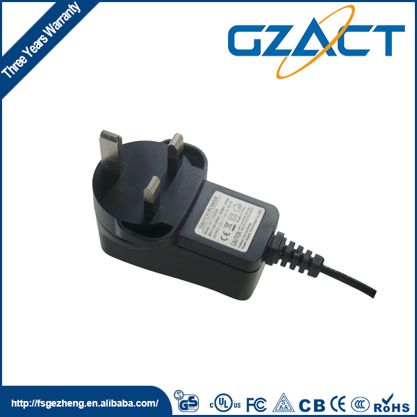 CE approved UL listed newest ac dc 12 24 volt power supply