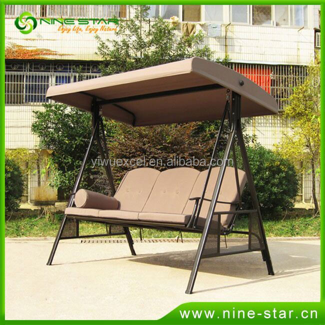 Latest Hot Selling!! OEM Quality 3 person swing chair from China workshop