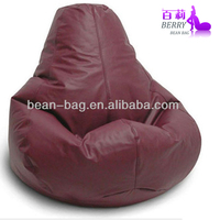 2016 New Living Room Furniture Water Resistant Bean Bags,Pear Shaped Bean Bag Pouf Chair Cover