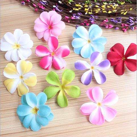 10 pieces silk artificial flowers flower arrangement accessories hair accessories silk flowers in korean style