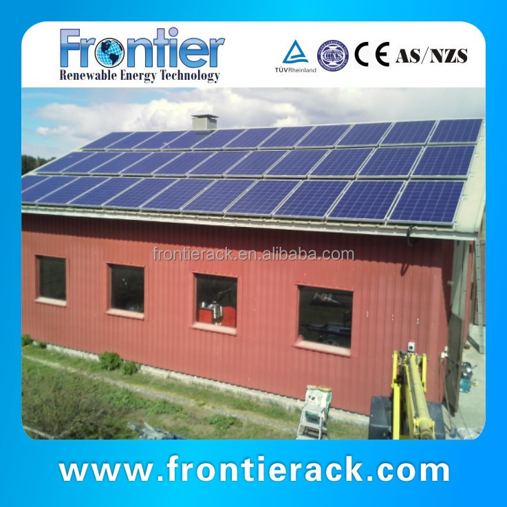 solar energy solution on grid 5KW solar panel system