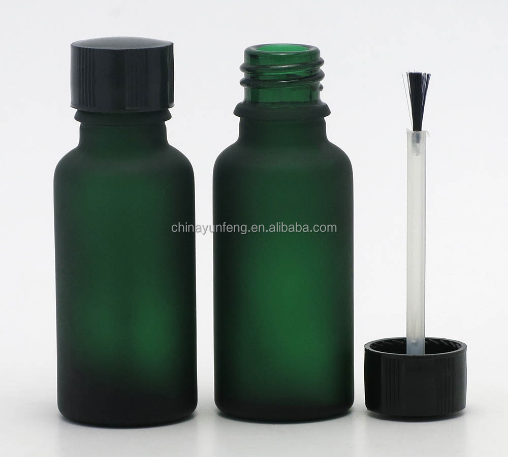 20ML big volume nail polish bottle with brush cap for bulk sale