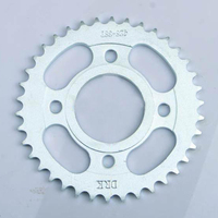 Professional Motorcycle Chain Sprockets Motorcycle Rear Sprocket CB125