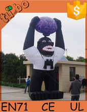 hot sale cheap custom gaint inflatable gorilla / giant inflatable animals for advertising promotion