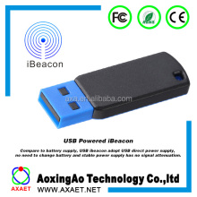 USB powered mobile long range Eddystone Beacon bluetooth Beacon