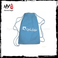supplier cheap backpack, folding drawstring backpack, nonwoven beach bag