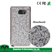 lady girl rhinestone crystal bling bling mobile phone cover for samsung galaxy Note 5
