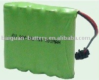 6V nimh rechargeable battery pack AAA