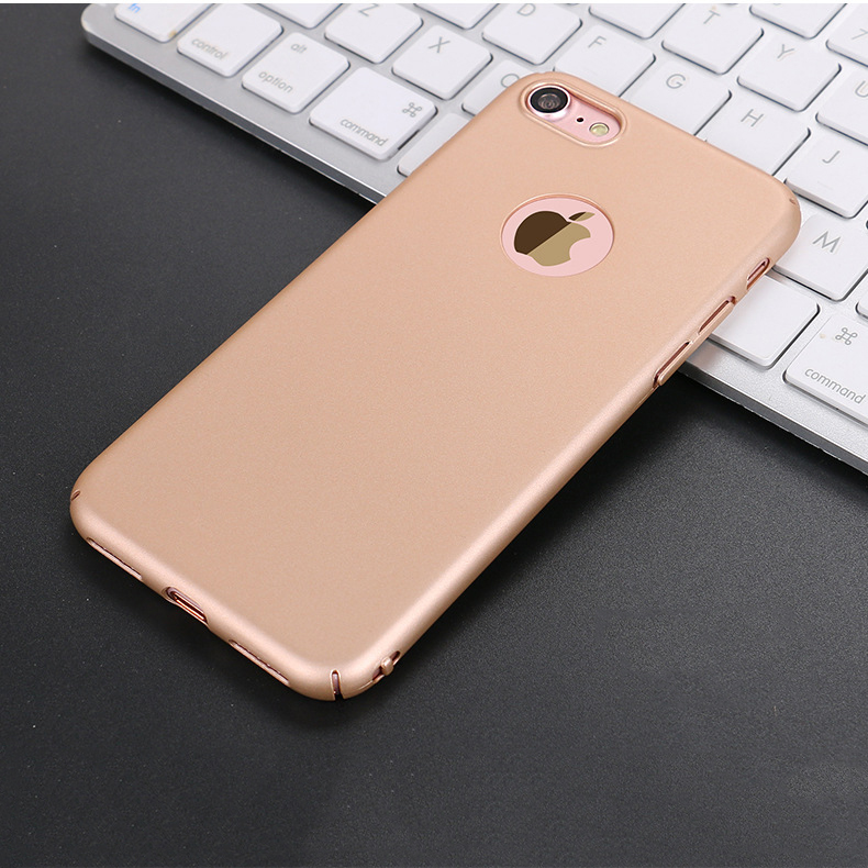 PC Hard matte luxury case for apple iphone 7 plus case back cover,pc case color for iphone 7 phone unlocked
