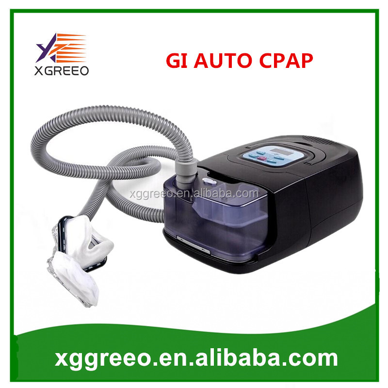 XGREEO GI Auto CPAP Machine Hot Sale Mini Black Shell Resmart Respirator For Anti Snoring Sleep Apnea With Mask Humidifier