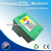 New arrival reman inkjet for HP 93 color printer cartridge