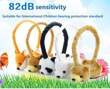 Animal Design Winter Earmuff Soft Headphones For Children