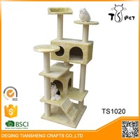 Waterproof Durable Healthy tree cat scratching post pet house