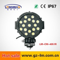 Led Spot Light for Offroad Led driving light for hid offroad lights 51w