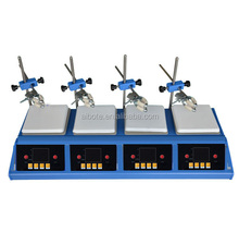 W/Stir bars 400 degree , hot heating stirring plate <strong>Max</strong> heated magnetic stirrer