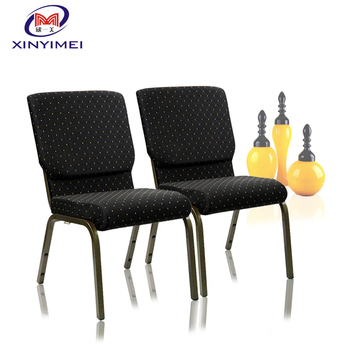 Guangdong Wholesale Cheap Stacking Metal Church Chair