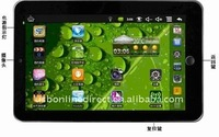 Giant 7 inch and 16:9 Android OS 2.2 Tablet pc/MID/UMPC/laptop with WIFI 4GB 512MB
