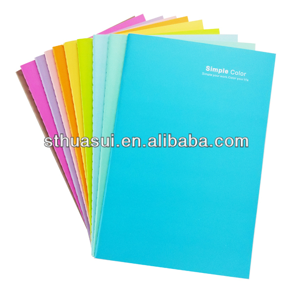 colorful & cute exercise text book