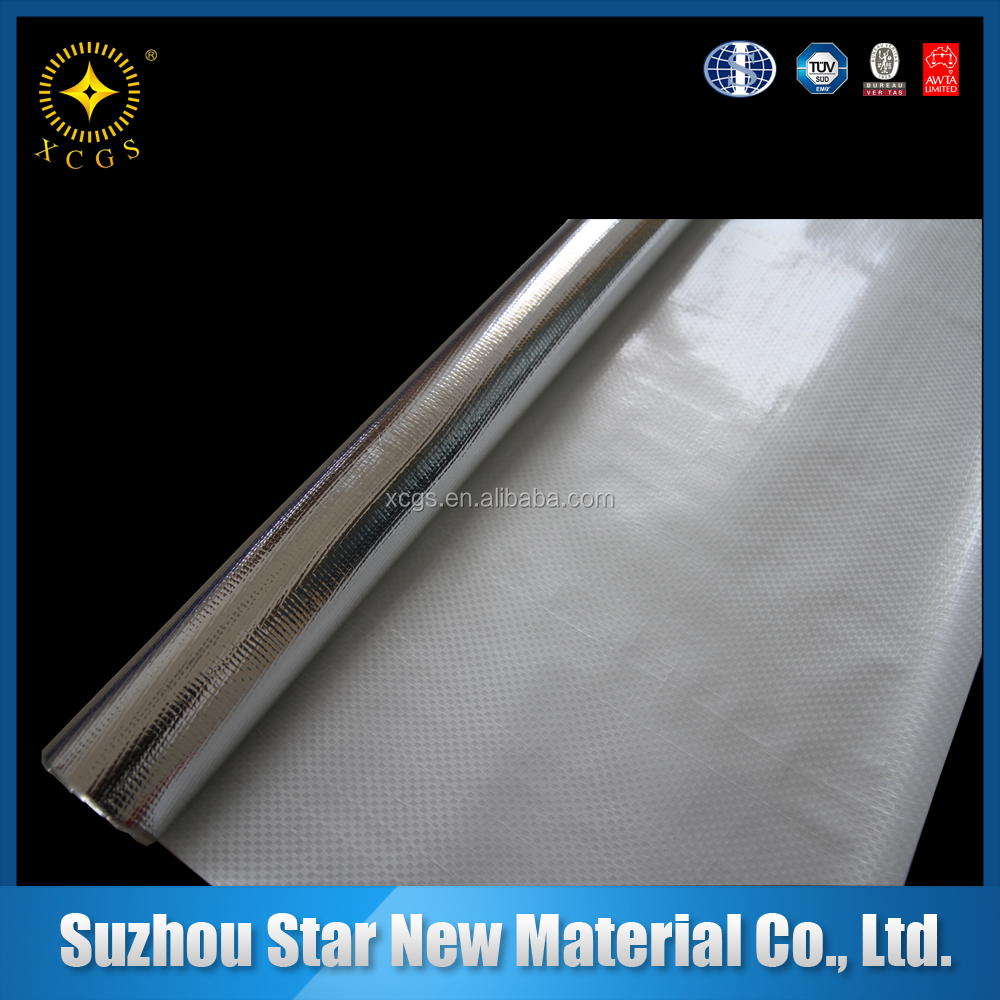 Reinforced Woven Cloth Laminated Aluminum Foil Thermal Insulation