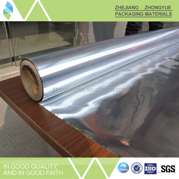 Metalized Pet Film Al/PET/PE Decorative Material Insulation Panel