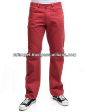 Chile rojo caliente gata <span class=keywords><strong>jeans</strong></span> de color 2013
