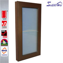 New product aluminum single hung windows chain winder awning Window for sunroom with US standard