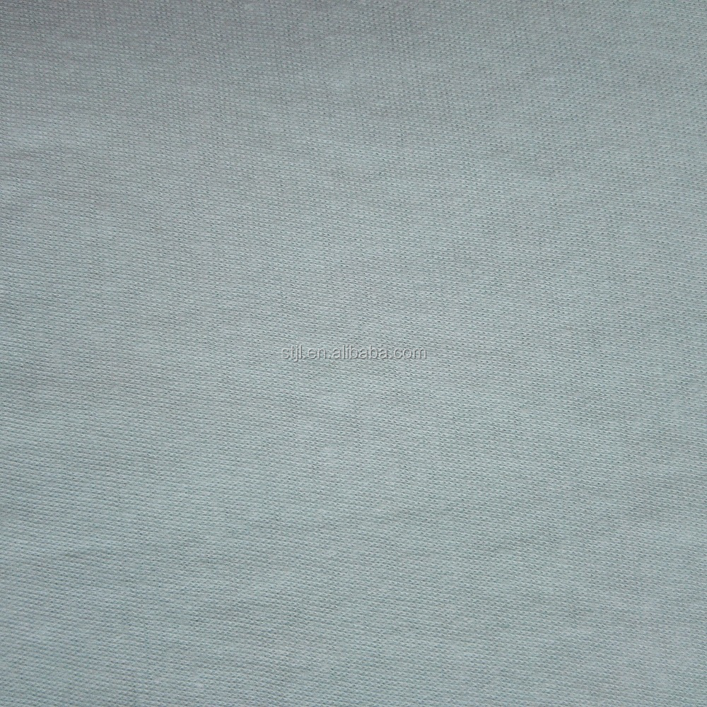 Shantou factory weft knit 100% 40S cotton single jersey fabric for T-shirt and underwear