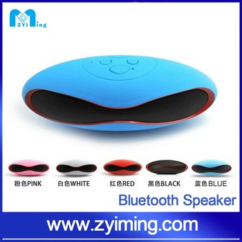 Zyiming speaker factory 2016 hot sell rugby football wireless portable mini waterproof bluetooth speaker