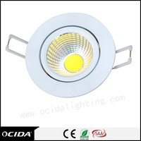 Wholesale die casting aluminium customized recessed cob 3w-50w 30w led light downlight for housing