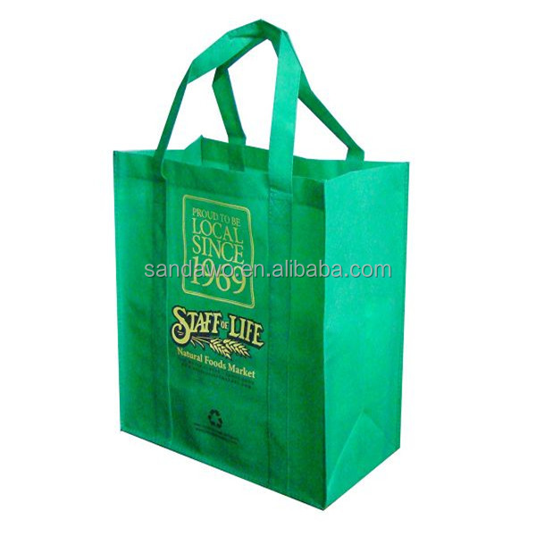 Promotional Cheap Custom PP Non Woven Tote Bag,PP Non Woven Shopping Bag,Best Selling Non Woven Bag