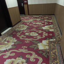 Star Hotel Corridor Jacquard Luxury Style Wall to Wall House Bedroom Carpet