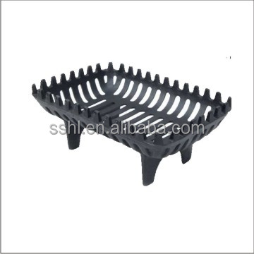 Cast Iron Metal Fire Basket 16'' Fireplace accessories Fire Grate