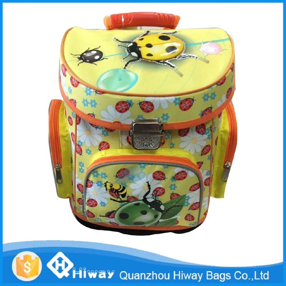 2016 china animal cute funny printing school backpack