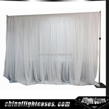 Aluminum Portable Stage Curtains Free Standing Curtain Rod