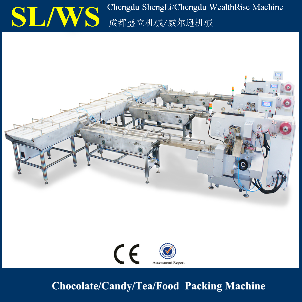 Full Automatic Packing Machine for Ferrero Rocher Chocolate
